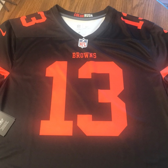 detailed look 13f63 4f1b0 NWT Cleveland Browns Nike Odell Beckham Jr Jersey NWT